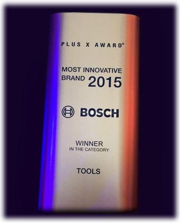 Plus X Award 2015 Bosch Tools