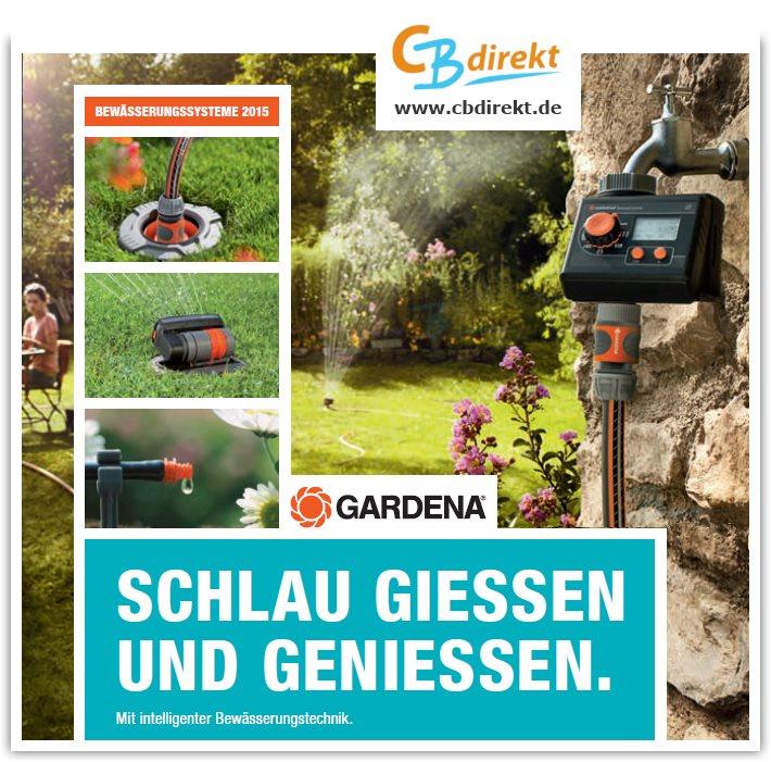 Gardena Bewässerungssysteme 2015