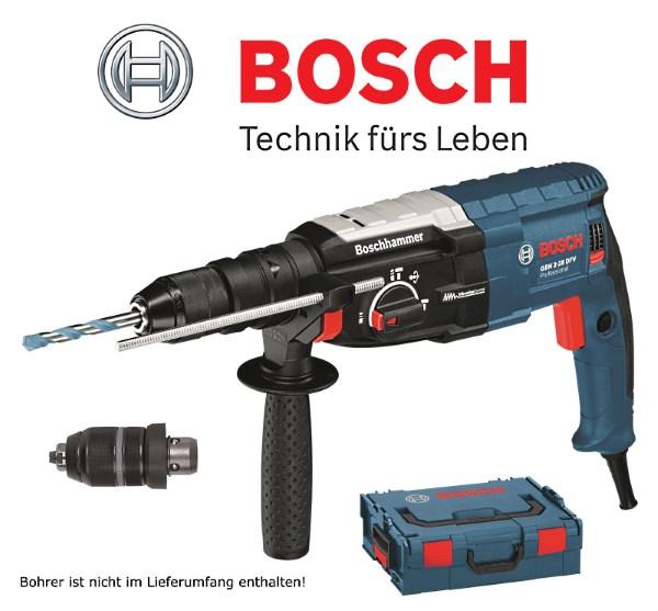 Bosch GBH 2-28 DFV inl. L-BOXX und Wechselfutter / CBdirekt