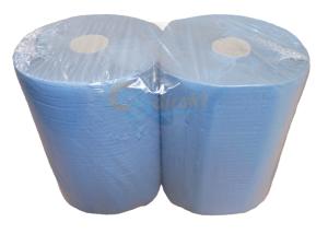 Putzpapier blau