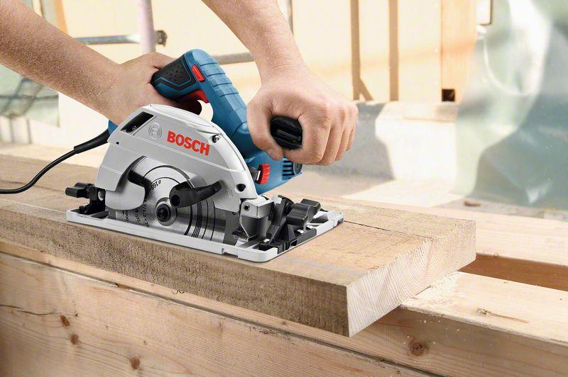 Bosch Handkreissäge GKS 55+, einfach mehr Schnitttiefe