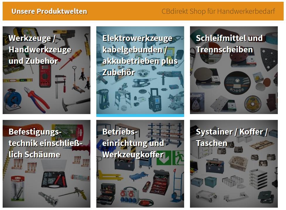 Markenwelten von CBdirekt im Ebay Shop