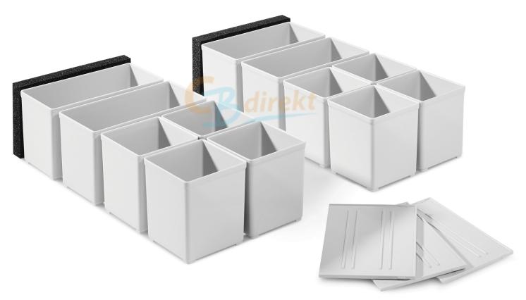 Festool SYSTAINER Zubehör für Schublade Set 60x60/120x71 3xFT 201124