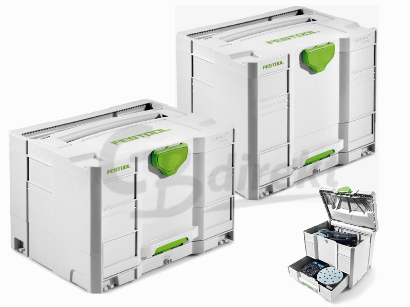 Festool T-LOC Systainer mit Schublade SYS-COMBI 2 oder SYS-COMBI 3