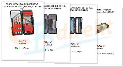 Bosch Toughbox Angebote bei CBdirekt Werkzeug Shop online