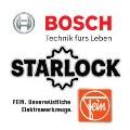 BOSCH und FEIN STARLOCK Aufnahmesystem Logos
