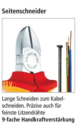 Seitenschneider von Knipex DEr Klasiker
