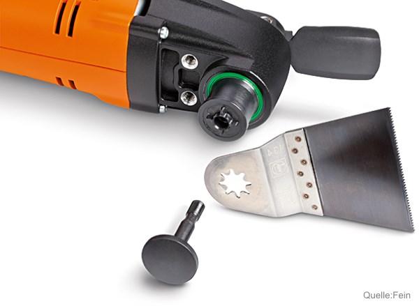 Fein MultiMaster 8-Stern Werkzeugaufnahme