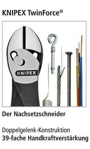 KNIPEX TWINFORCE Seitenschneider