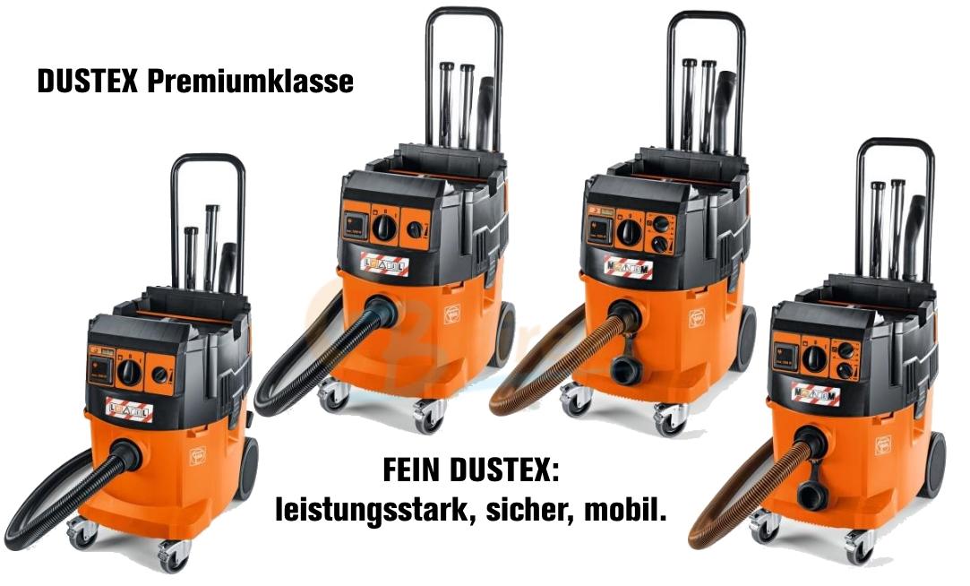FEIN Dustex Staubsauger NEUE Modelle 2016 ab sofort bei CBdirekt erhältlich