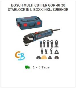 Bosch GOP 40-30 061231001 Set