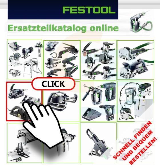 Festool Ersatzteilkatalog online bei CBdirekt