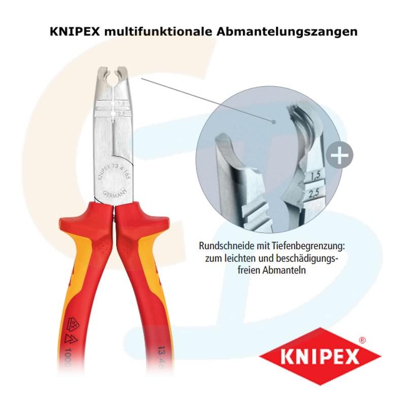 KNIPEX 13 42 165 Abmantelungszangen