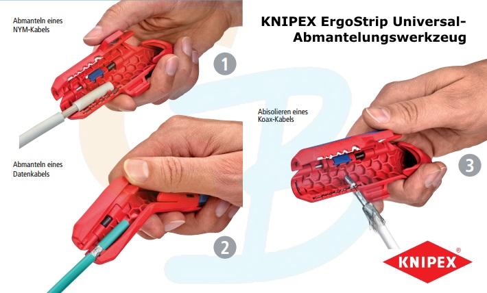 16 95 01 SB KNIPEX ErgoStrip