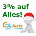 Wahnsinn: 3% Rabatt auf Alles im CBdirekt Shop!
