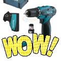 Makita 10,8 V Akku-Bohrschrauber HEUTE als eBay Tages-Wow