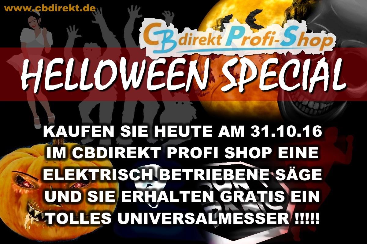 CBdirekt Helloween 2016 Special Gratis Universalmesser