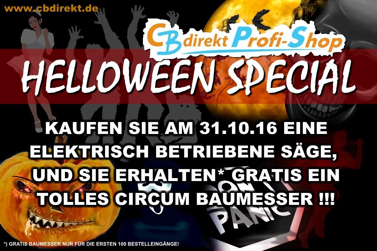 CBdirekt Helloween 2016 Special GRATIS BAUMESSER