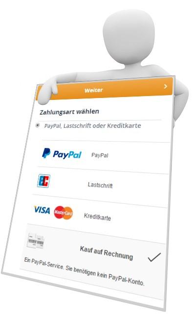 PayPal PLUS bei CBdirekt