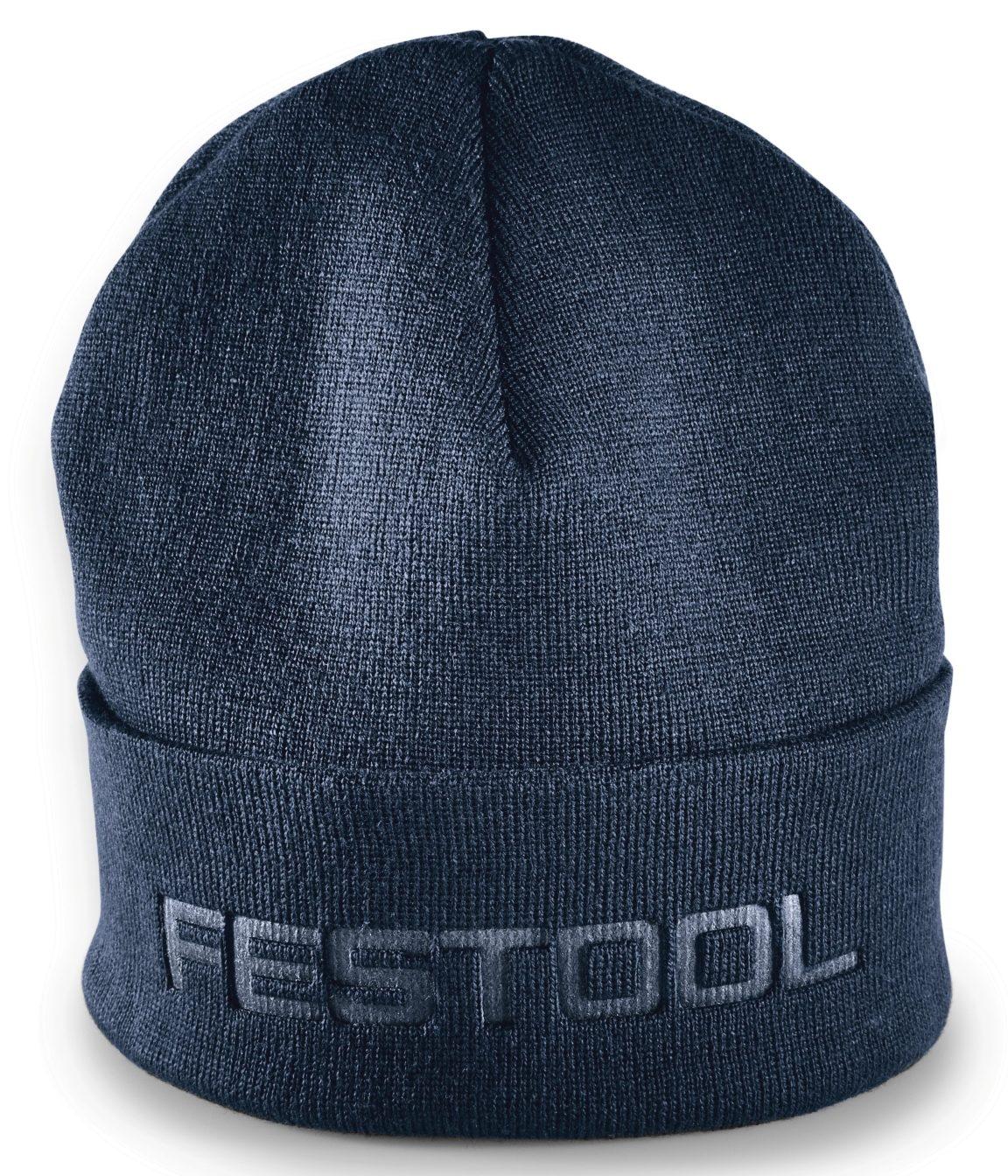 Festool Strickmütze mit Festool Aufdruck