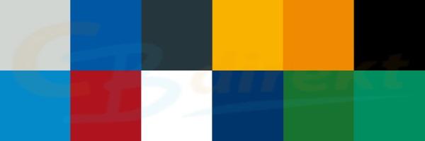 TANOS Farben für individuell gestaltete Systainer