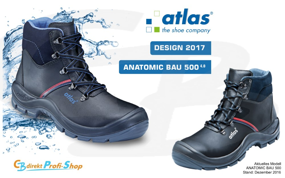 atlas ANATOMIC BAU 500
