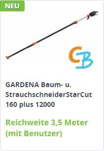 GARDENA Baum- und Strauchschneider StarCut 160 plus (12000)