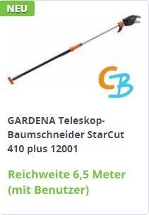 GARDENA Teleskop-Baumschneider StarCut 410 plus (12001)