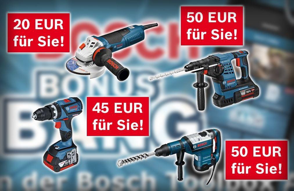 Bosch Bonus Bang Angebote Februar 2017