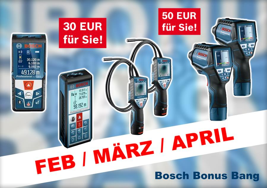 Bosch Bonus Bang Februar März April 2017