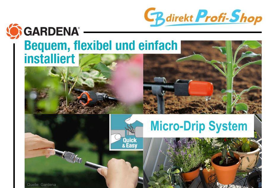 Gardena Micro-Drip System @ CBdirekt Profi Shop