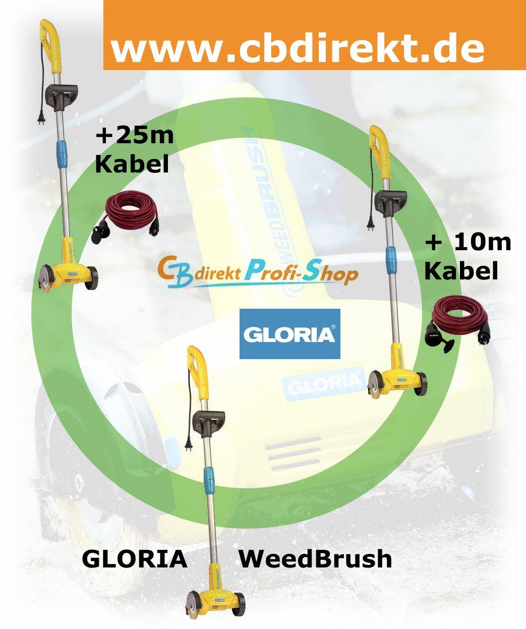 GLORIA WeedBrush Unkrautbürste @ CBdirekt Profi Shop
