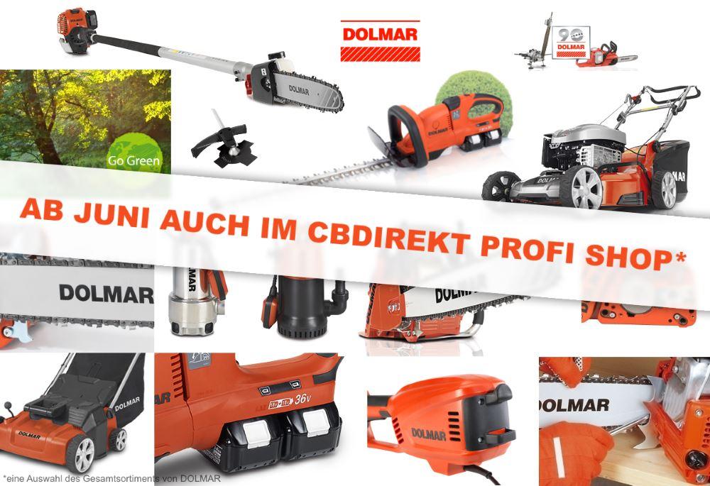 DOLMAR Produkte ab Juni 2017 auch im CBdirekt Profi Shop