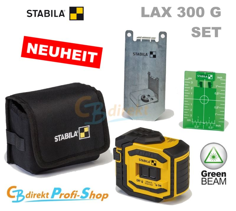 STABILA LAX 300 G Set im CBdirekt Profi Shop