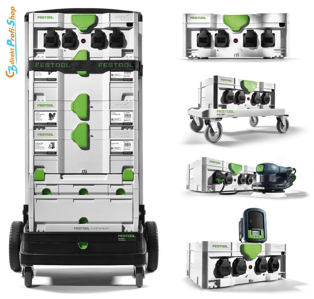 Festool SYS PowerHub Mobilität und Anwendung