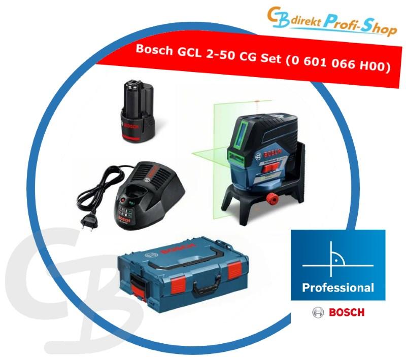 Bosch Set GCL 2-50 CG 0601066H00