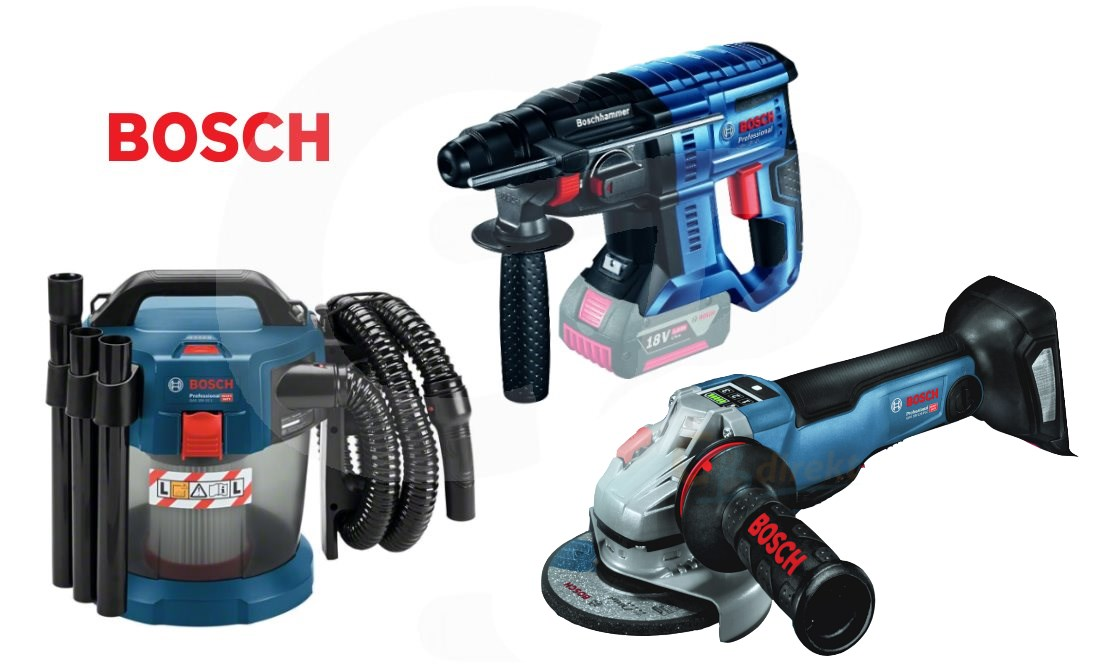 Bosch Neuheiten GWS GOP GBH