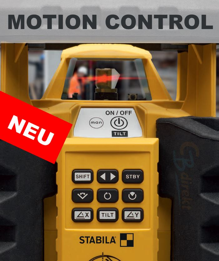 STABILA Rotationslaser LAR 350 mit MOTION CONTROL