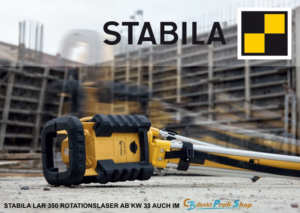 STABILA Rotationslaser LAR 350 PROTECTION