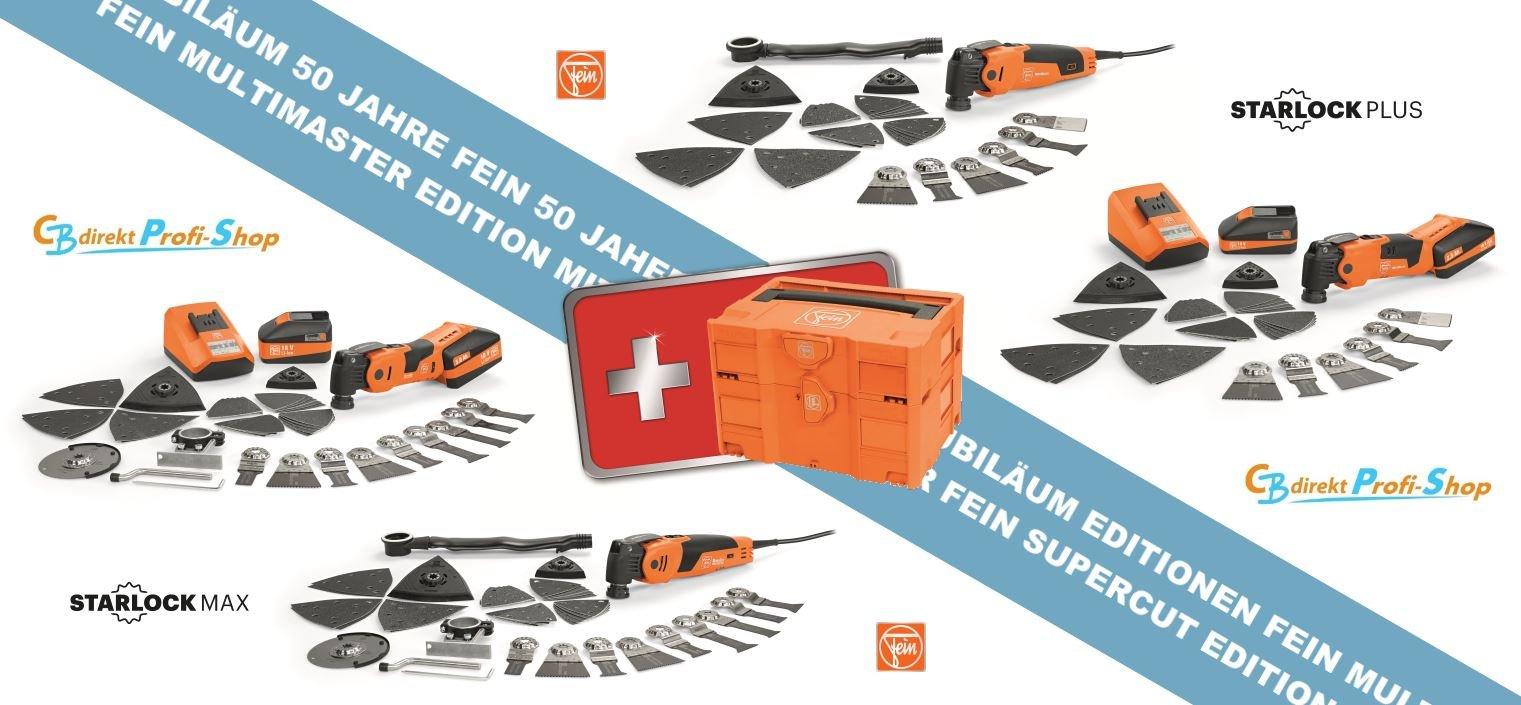 FEIN Jubiläums-Editionen FMM FSC mit Doppel-Systainer