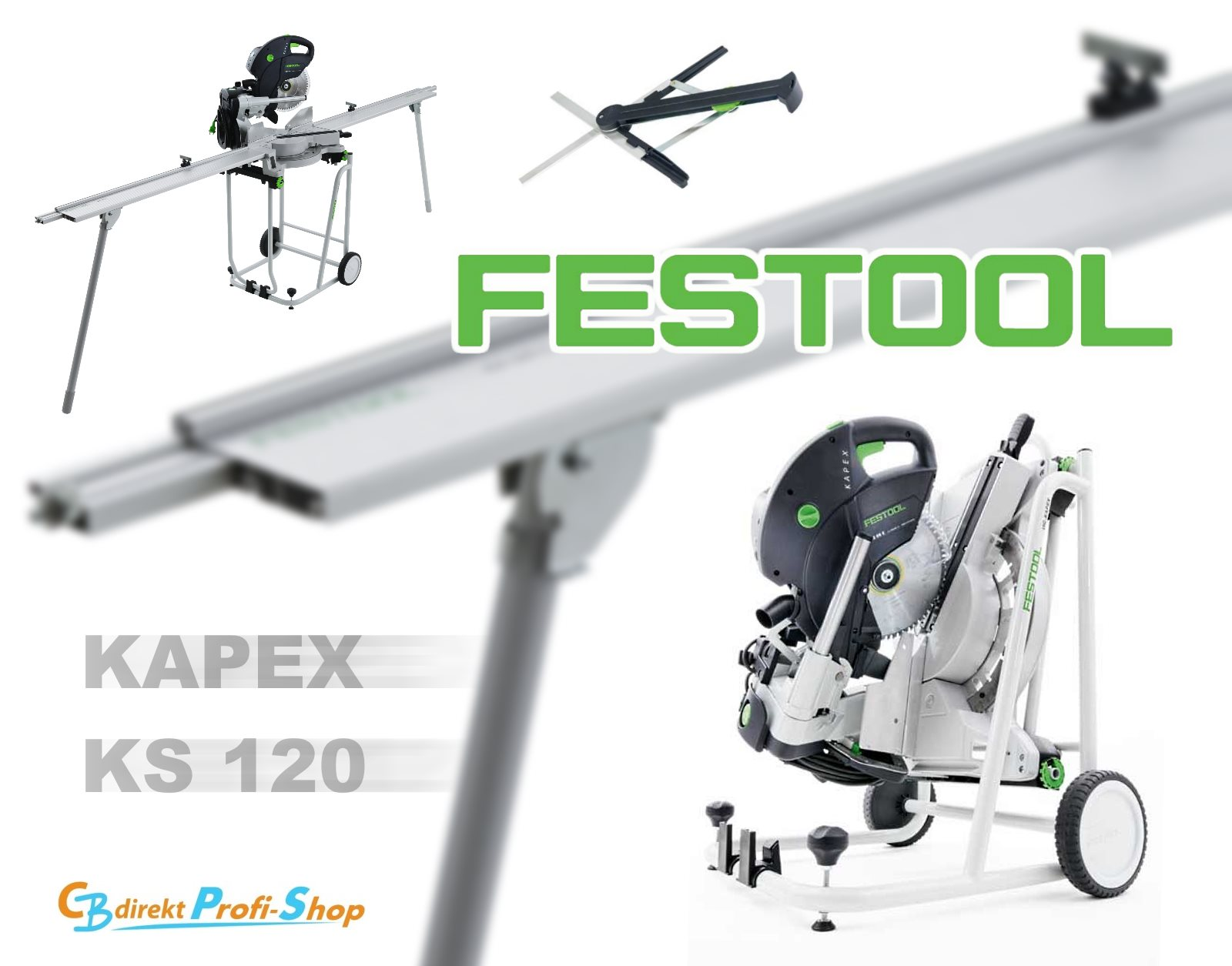 FESTOOL 561415 KS 120 UG SET Kapp-Zugsäe
