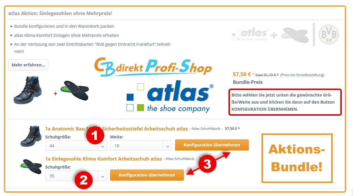 CBdirekt Aktionen atlas Bundle