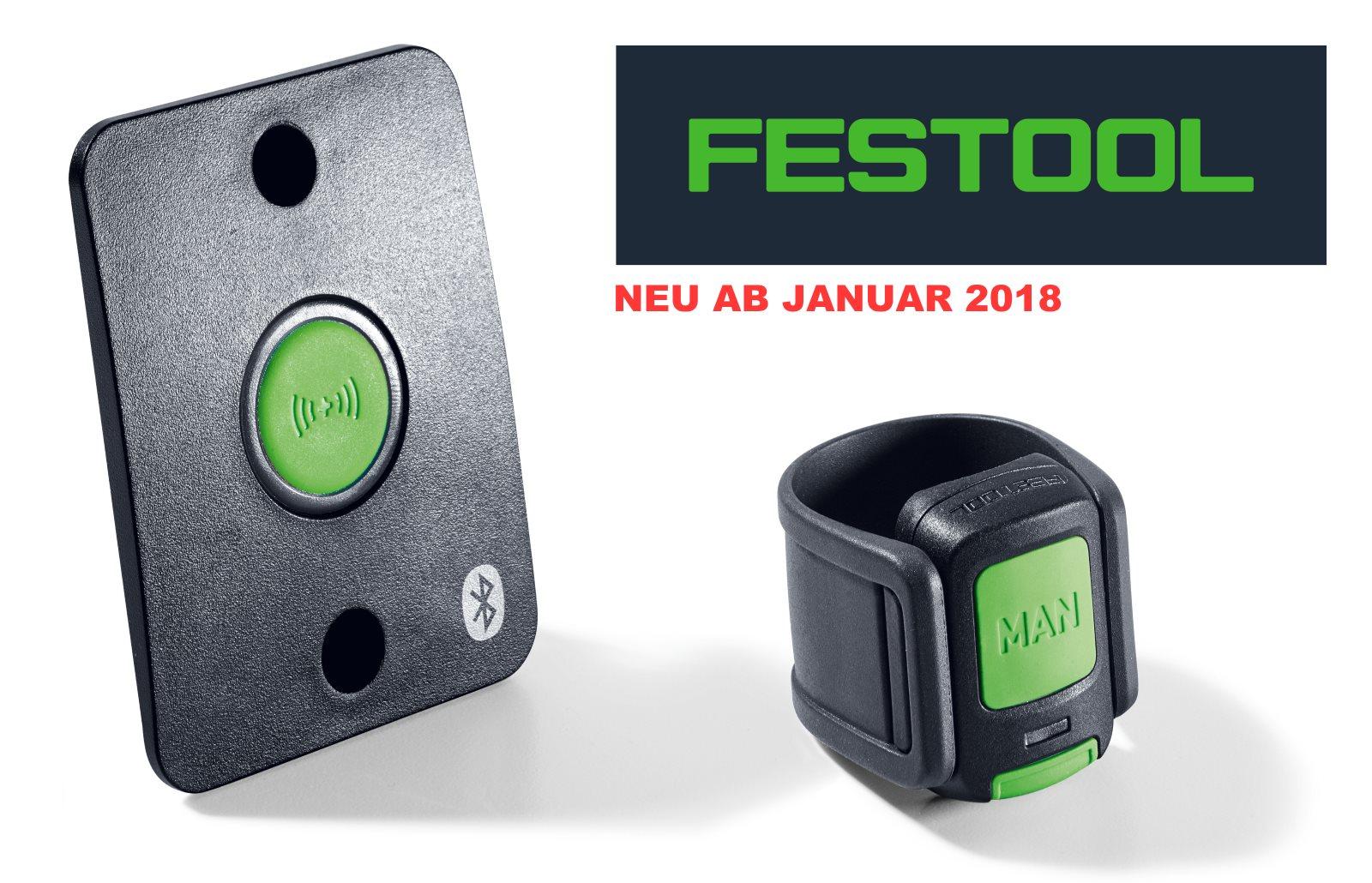 FESTOOL Bluetooth Fernbedienung für CLEANTEC Absaugmobile Neu Januar 2018