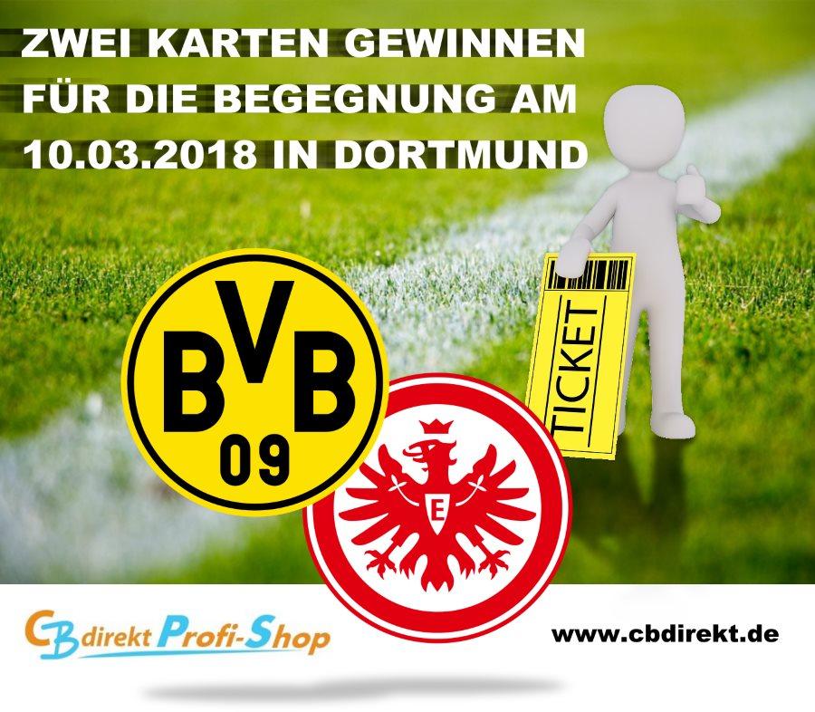 Eintrittskarten gewinnen bei CBdirekt - BVB gegen Eintracht Frankfurt