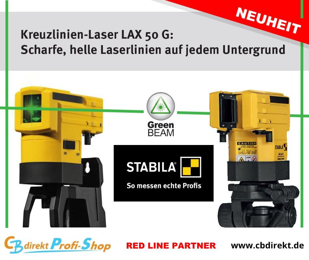 Stabila Kreuzlinienlaser LAX 50 G