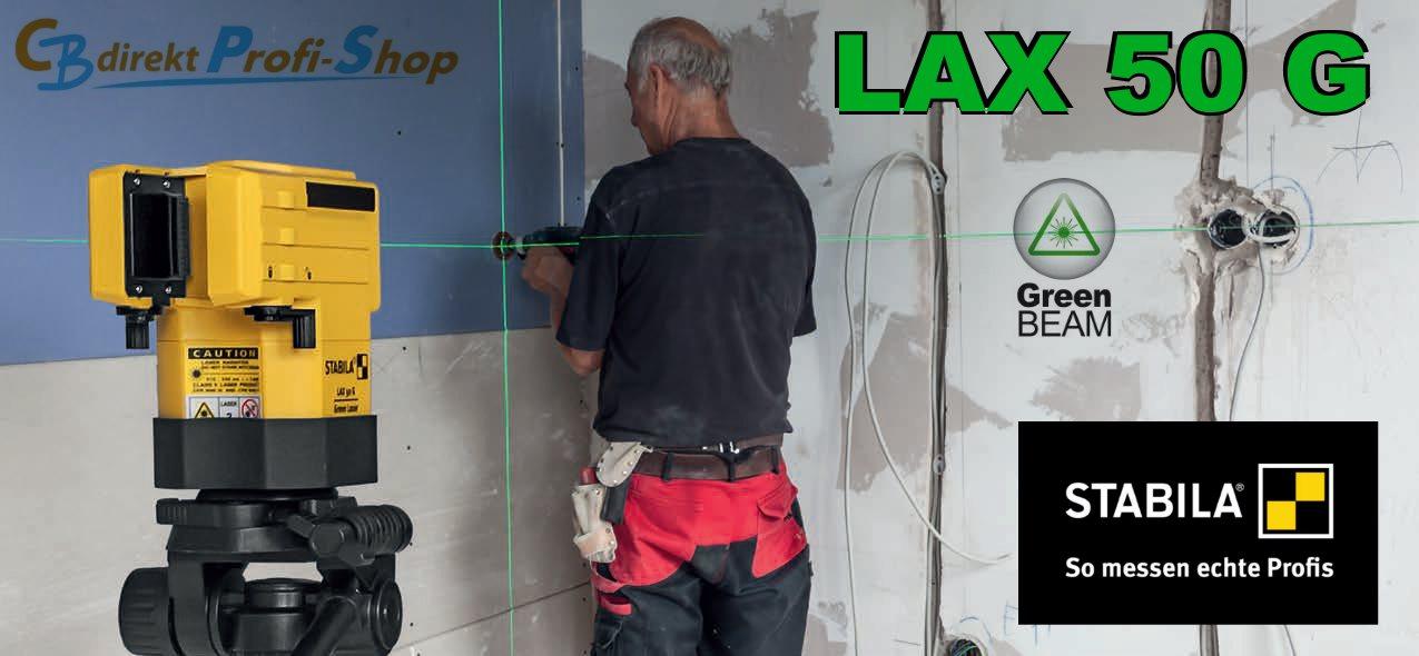 Stabila LAX 50 G Neuheit