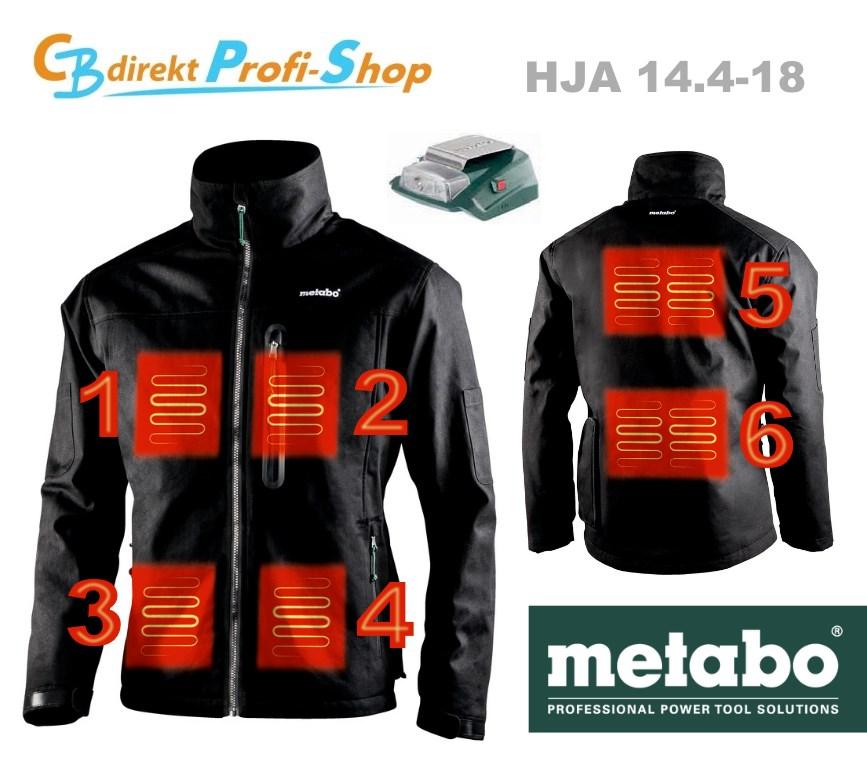 Metabo HJA 14.4-18 Heiz-Elemente