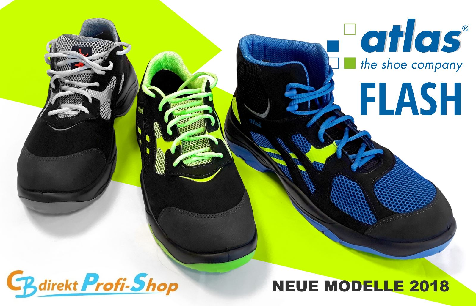 atlas FLASH neue Modelle 2018
