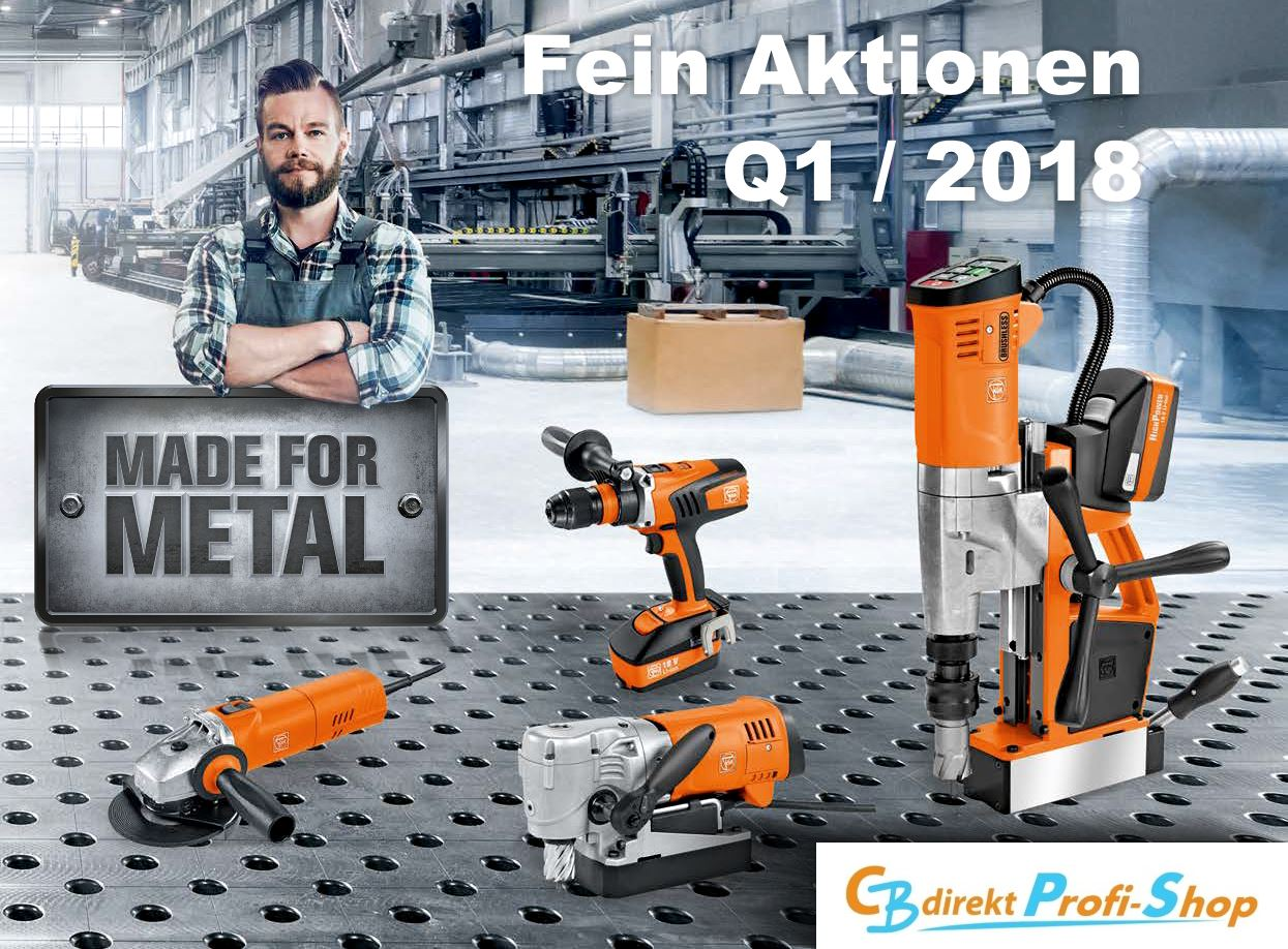 FEIN Promo Q1 2018 Made for Metal