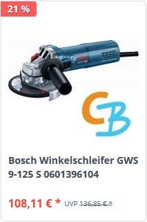 Bosch GWS 9-125 S bei CBdirekt